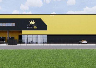 Nieuwbouw Crown Food  Enschede